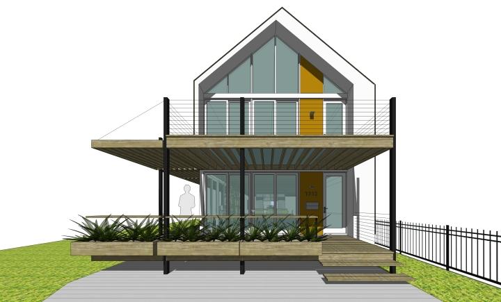Oui House 2 Fort Wayne Scott Greider Architecture